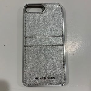 Michael Kors Saffiano Pocket Phone Case